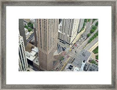 Chicago Streets Framed Print
