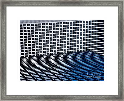 Chicago Tetris Framed Print by Debra Banks