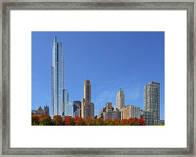 Chicago The Beautiful Framed Print by Christine Till
