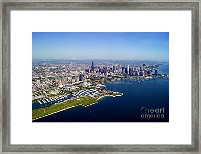 Chicago To North 2 Framed Print