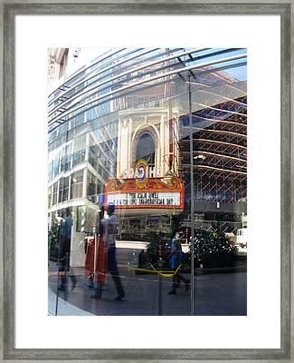 Chicago Framed Print by Tom Hefko