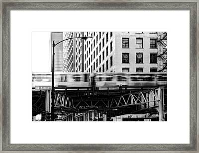 Chicago Transit Framed Print