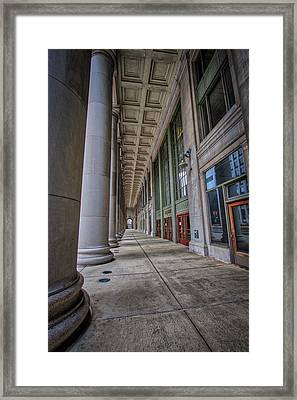 Chicago Union Station Entrance Framed Print
