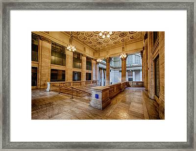Chicago Union Station Framed Print