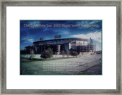Chicago White Sox 2005 World Series Champions Framed Print