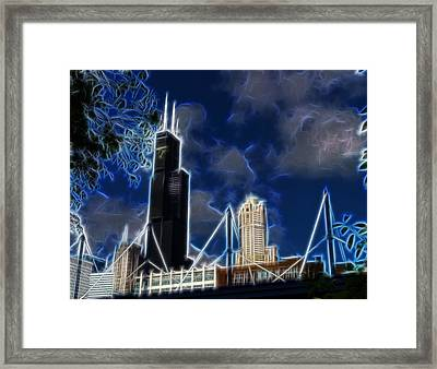 Chicago's Sears Tower Framed Print