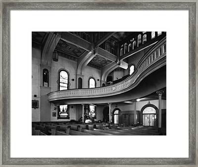 Chicago's St. Patrick's Church Framed Print by Cervin Robinson