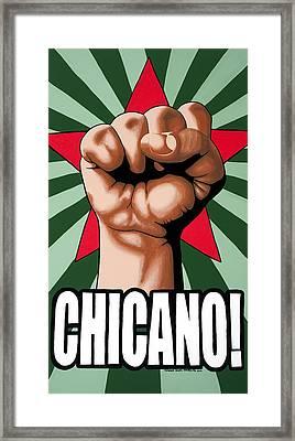 Chicano Framed Print