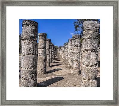 Chichen Itza 2 Framed Print by Pelo Blanco Photo