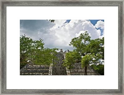 Chichen Itza 4 Framed Print by Douglas Barnett
