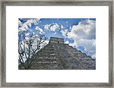 Chichen Itza 5 Framed Print by Douglas Barnett
