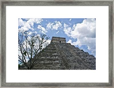 Chichen Itza 6 Framed Print by Douglas Barnett