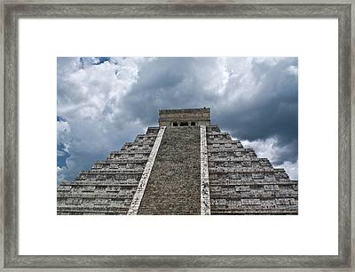 Chichen Itza 7 Framed Print by Douglas Barnett
