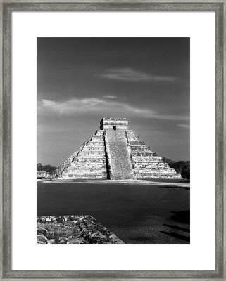 Chichen Itza Framed Print by Chris Jurgenson
