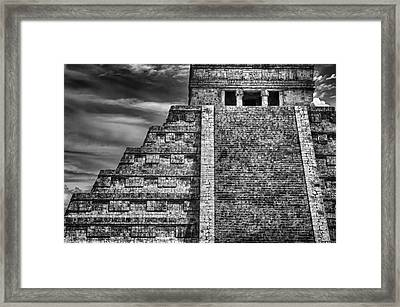 Chichen Itza-mayan Temple Framed Print