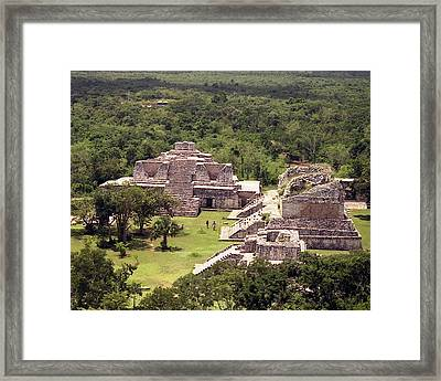 Chichen Itza Framed Print