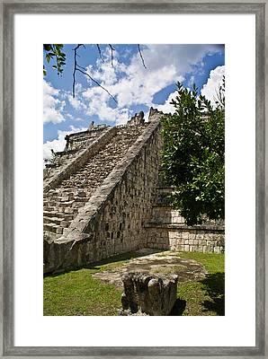 Chichen Itza Pyrmid 1 Framed Print by Douglas BarnettTalum