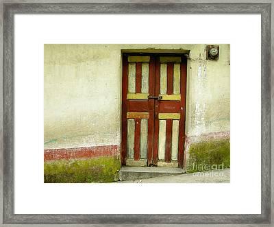 Chichi Door Framed Print by Derek Selander