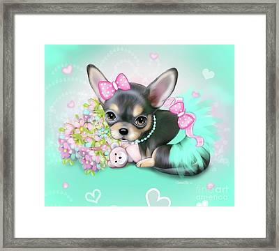 Chichi Sweetie Framed Print