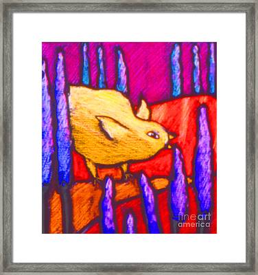 Chick Framed Print by Angelina Marino