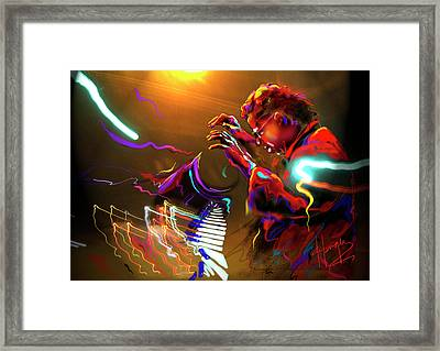 Chick Corea Framed Print