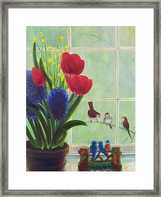 Chick Flick Framed Print by Dana Redfern