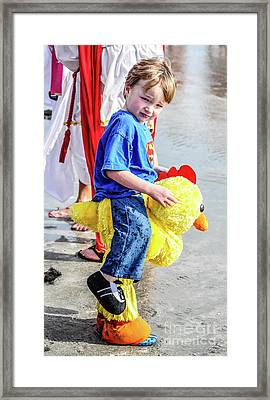 Chick Framed Print by Yvette Wilson