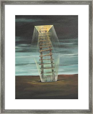 Chickasaw's Ladder Framed Print by K Hoover