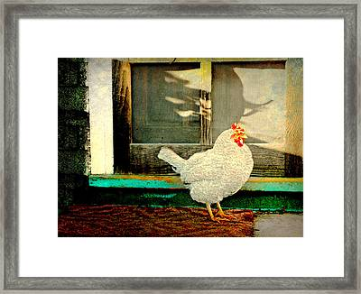 Chicken Coop Framed Print