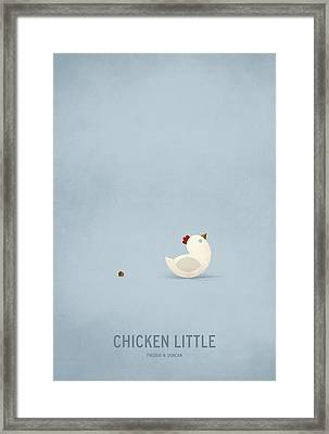 Chicken Little Framed Print