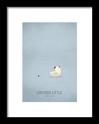 Chicken Framed Prints