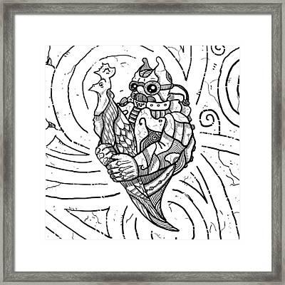 Chicken Master Framed Print