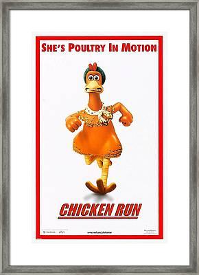 Chicken Run B Framed Print