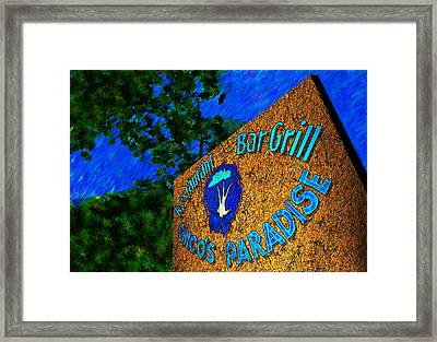 Chico's Paradise Framed Print by Paul Wear