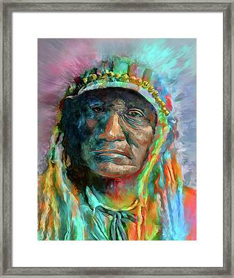 Chief 2 Framed Print