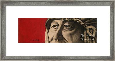 Chief Framed Print by Anastasis  Anastasi