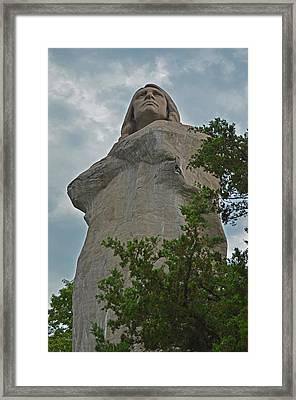 Chief Blackhawk Framed Print by Robert Coffey