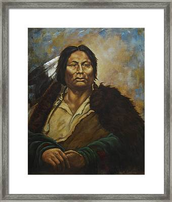 Chief Gall Framed Print by Harvie Brown