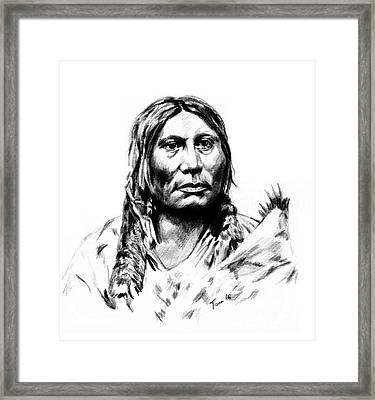 Chief Gall Framed Print