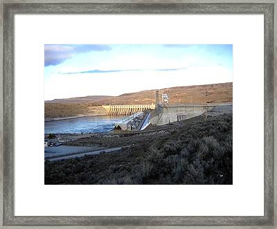 Chief Joseph Dam Framed Print by Will Borden