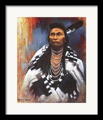 Blanket Paintings Framed Prints