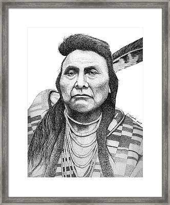 Chief Joseph Framed Print