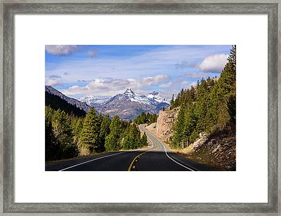 Chief Joseph Scenic Highway Framed Print