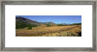 Chief Joseph Scenic Highway, Wyoming Framed Print by Panoramic Images