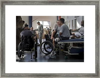 Chief Of Staff Of The Army General Framed Print by Everett