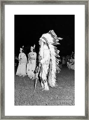 Chief  Red Bird Framed Print