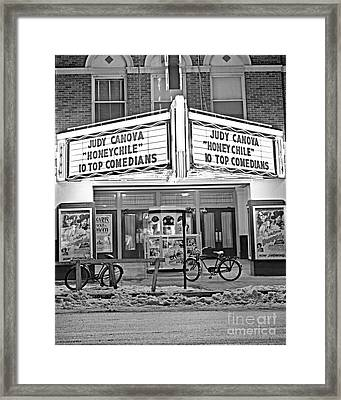 Chief Theater Framed Print
