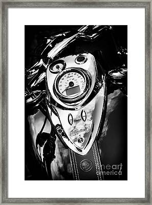 Chief Framed Print by Tim Gainey