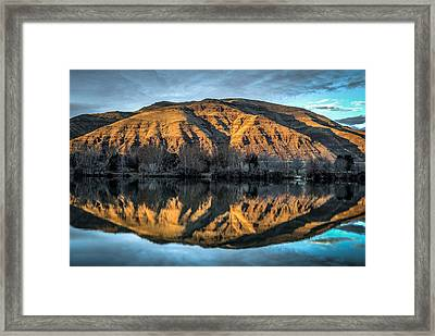 Chief Timothy Reflection Framed Print