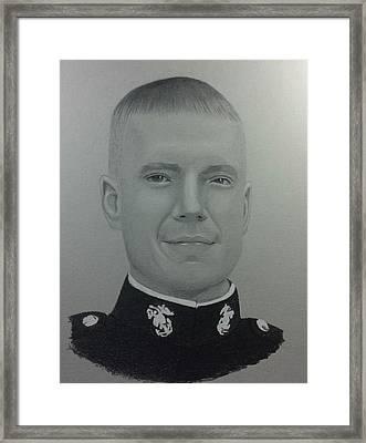 Chief Warrent Officer Kenneth Drexler Framed Print by Ray Habyan